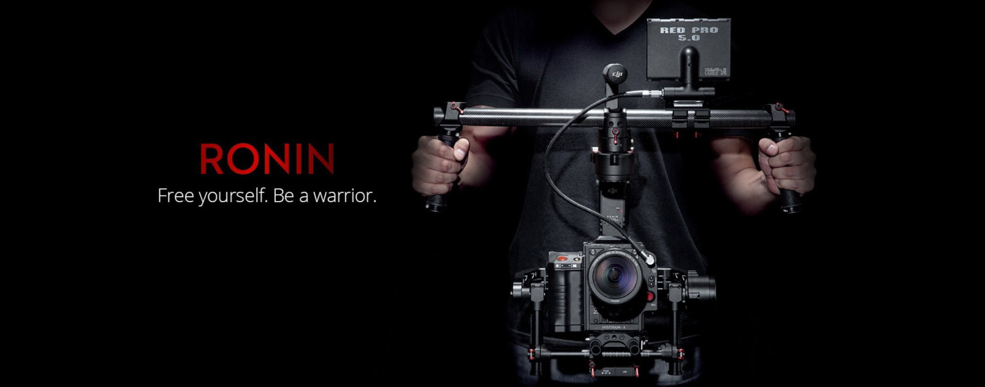 New DJI RONIN Camera Stabilizing System - available for rental