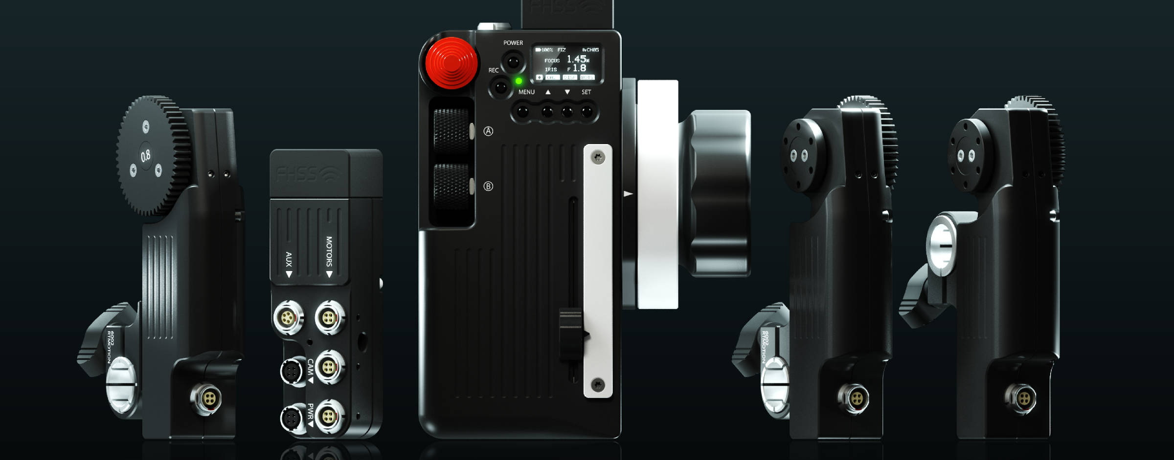 New RT Motion Lens Control System - available for rental